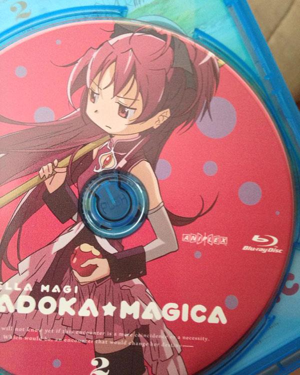 Madoka Magica bluray