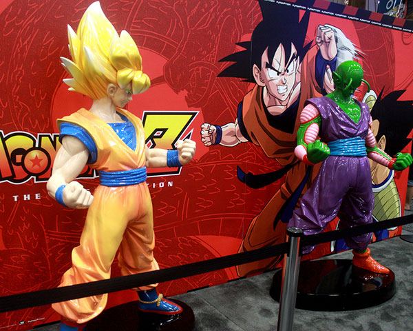 Dragon Ball z statues